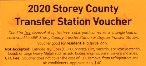 Transfer Station Voucher